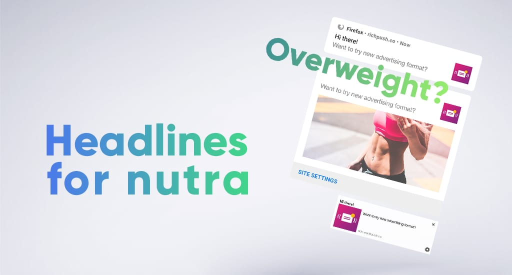Headlines for nutra: examples of titles and descriptions