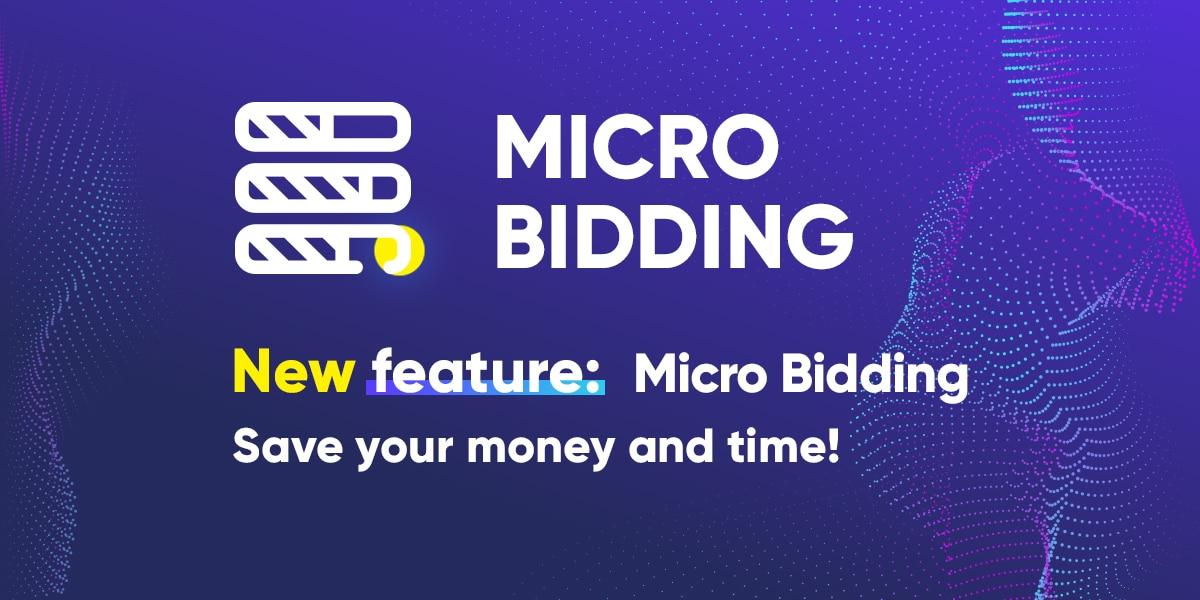 Micro Bidding feature in RichPush