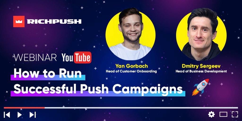 Learn how to start push ads campaign in RuchPush webinar