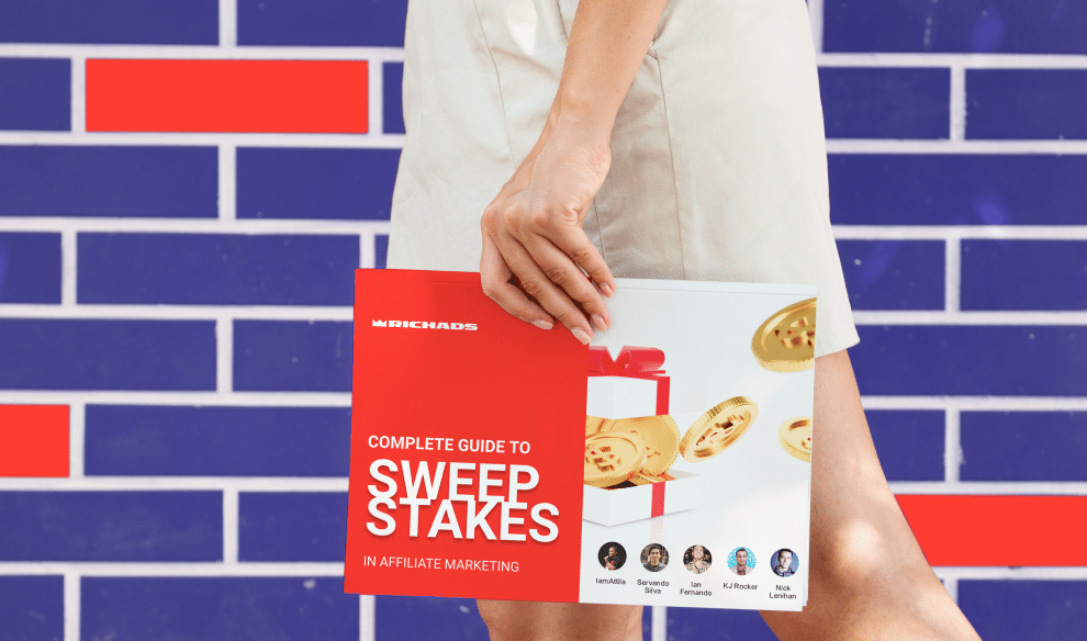 Download Complete Guide to Sweepstakes in Affiliate Marketing for free Trends in sweepstakes in 2020/2021