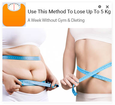 Examples of the best weight loss creatives for push traffic
