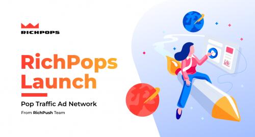 High-quality Pop traffic ad network launch
