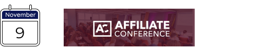 affiliate marketing conference in november 2020