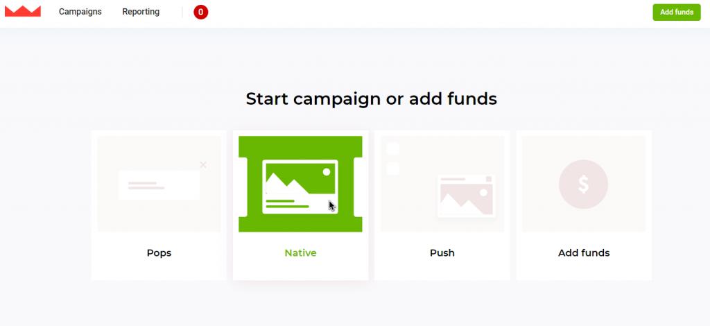 Native ads at RichNative