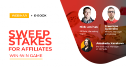 Sweepstakes for affiliates