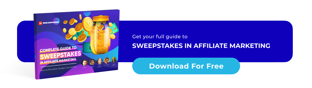 how to run sweepstakes