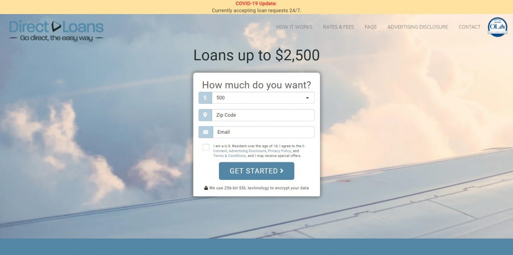 finance push ads guide Landing pages examples