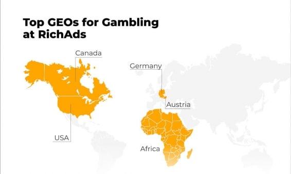 how to start push ads gambling_best geos to run gambling at richads