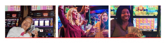 Examples of  banners for Gambling ads