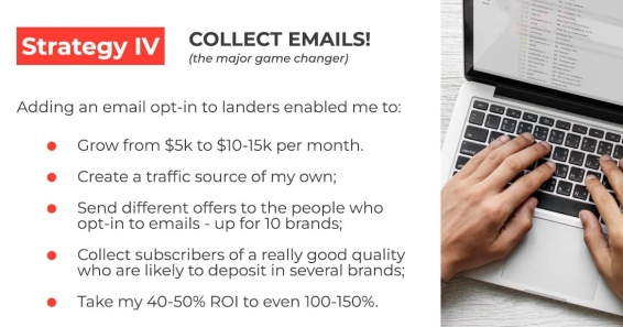 how to get maximum profit on gambling offers - collect emails