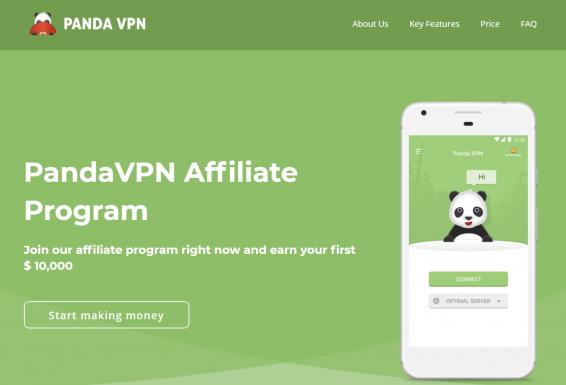 PandaVPN_Top 3 direct VPN advertisers affiliate programs overview