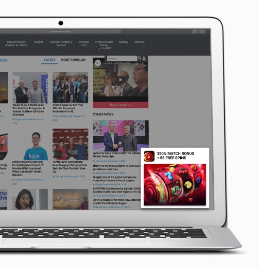 push ads in affiliate marketing