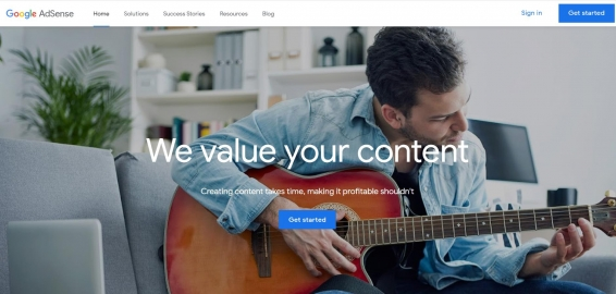 how to monetize a blog using Google Adsense